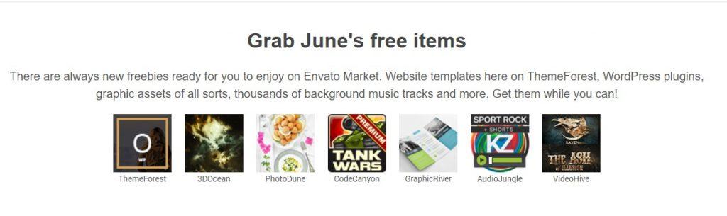Envato Free Items