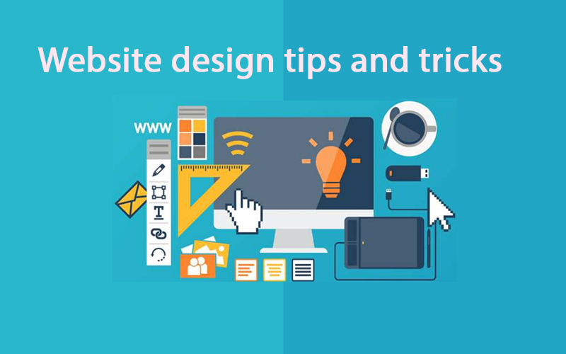 Website design tips and tricks