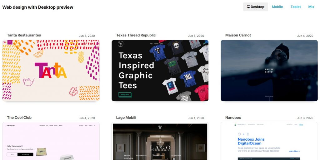 Top Websites for webdesign inspiration